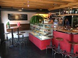 Lauschiges Cafe im Herzen von Grindelwald