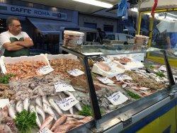 fish at La Spezia market