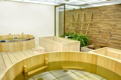 Traditional Japanese Bath House Ofuro