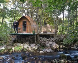 RiverBeds Luxury Wee Lodges