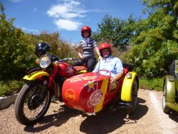 Cape Town Sidecar tours