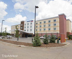 Grounds at the Fairfield Inn & Suites Edmonton North