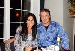 ROSARIO CASSATA AND CAROLYN AT STELLA IN BLUE POINT, NY.