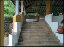 Stairway to common area.
