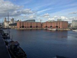 View of Albert Dock from room 177