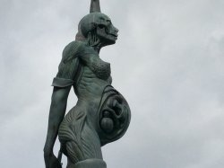 Verity Statue