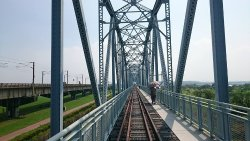 Old Railroad Bridge Education Wetland Zone