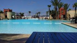Luxury hotel, great beach.