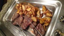 Breakfast buffet at Carnival World restaurant