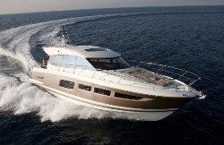 Prestige luxury yacht