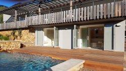 Ozonated solar heated pool & spa