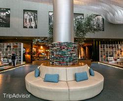 Lobby at the Live Aqua Mexico City Hotel & Spa