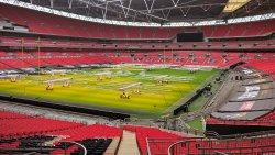 Wembley Stadion...90 000 plaatsen!