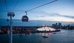 Emirates Air Line Cable Car - Greenwich Peninsula
