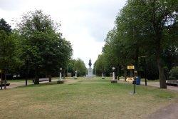 Kong Alberts egen park i Gent