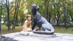 Памятник Маугли
