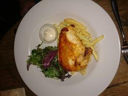 Amazing food and attentive waitress