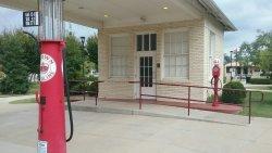 1921 Standard Oil Station