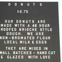 Grindstone Coffee and Donuts