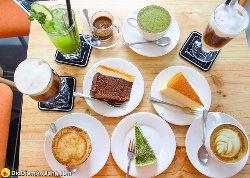 Cà phê Flat White Coffee, Teas & Cakes