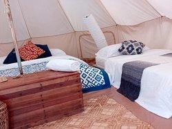 The Safari Tent is huge