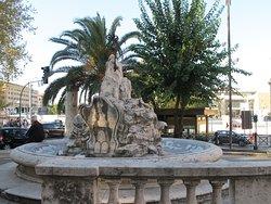 Fontana del porto di Ripetta
