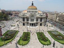 Palacio de Bellas Artes (Palast der Schönen Künste)