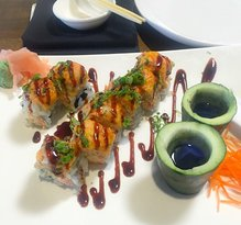 Geisha Sushi with a Flair