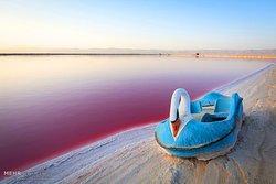 Maharloo Lake