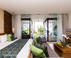 The Luxury Ocean View Suite Room at the Candi Beach Resort & Spa