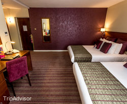 The Family Room at the Crowne Plaza London-Gatwick Airport