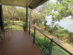 Stunning views for a relaxing time or you can still undertaking some or all of the activities Livingstone has to offer