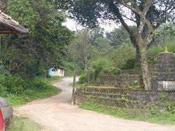 Approach road to Hemakoota