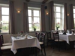 Lys og venlig restaurant