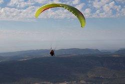 Vista de el valle de Ager