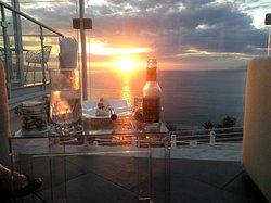 Luxury on a hilltop overlooking Capri.