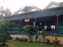 This is the main entrance / dinning and out the other side of is the deck looking over Kampot Ri