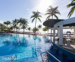 The Main Pool at the The Fives Azul Beach Resort Playa Del Carmen