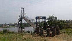O início da ponte