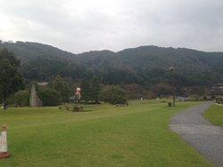 大自然の中の公園