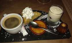 Café gourmand excellent aussi