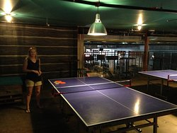 Ping Pong table upstairs