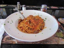 Here is my spaghetti