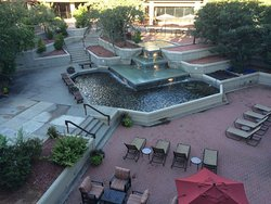 Courtyard Fountain view from room