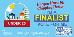 If you can please vote for Imogen!