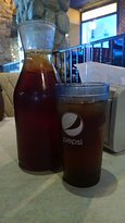 The sweet tea that is a must its got that southern sweetness you will crave again and again