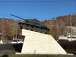 Monument Tank T-34