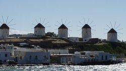 Marvelous Views of the Mykonos Windmills