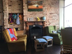 Great funky cafe in Albany