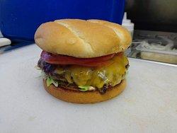 1/3 lb. Classic Cheeseburger.